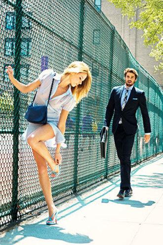 dress baby blue baby blue dress button up dress short sleeve light blue gq dsquared2