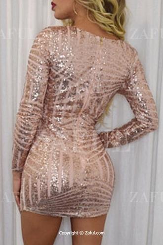 dress zaful sequins