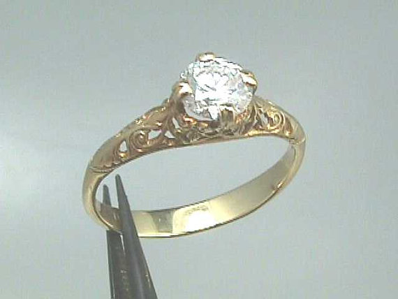 18k art nouveau edwardian yellow gold filigree by jewelry1910