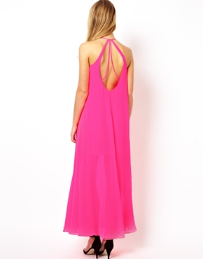 ASOS | ASOS Halter Maxi Dress at ASOS