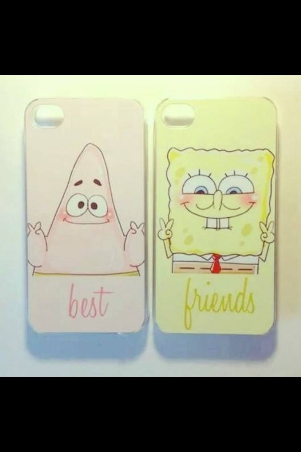 jewels phone cover spongebob bff