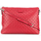 Gucci - signature shoulder bag - women - leather - one size, red, leather