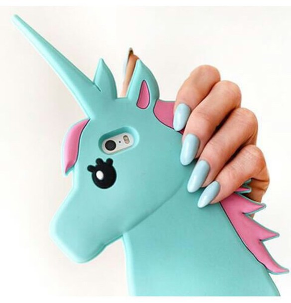 phone cover unicorn blue pink iphone iphone case iphone 5c iphone 5 case  iphone 5s phone cdfb3c9d66