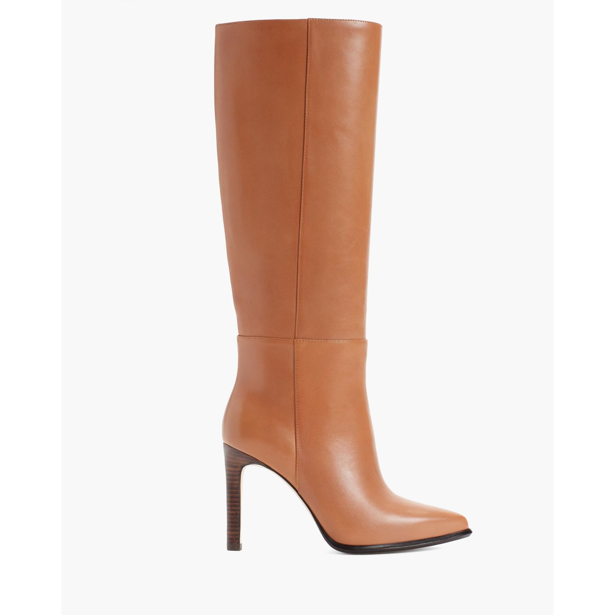 PAIGE Women's Hannah Boot - Caramel | Ultra High Heel Shoes (4