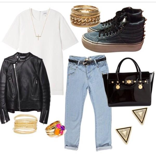 shoes jacket jewels