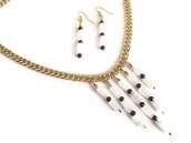 jewels,frivolous fun boutique,jewelry,gold jewelry,quartz,crystal quartz,statement necklace,crystal quartz necklace,crystal neckalce,etsy,unique jewelry,ooak jewelry,handmade necklace