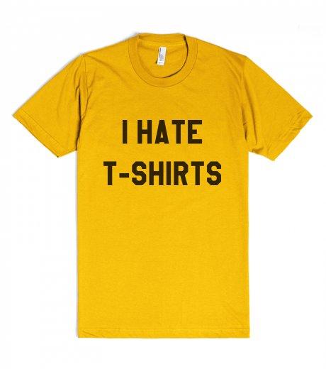 Rhett and Link - I hate t-shirts | Fitted T-shirt | SKREENED