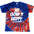 "CLOUD 9 ""WE CLOUD 9 GRIPPY"" INDEPENDENCE TEE IN TIE DYE 
