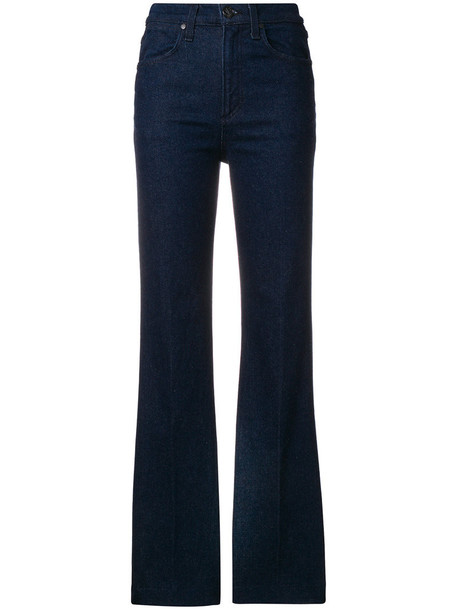 jeans women cotton blue