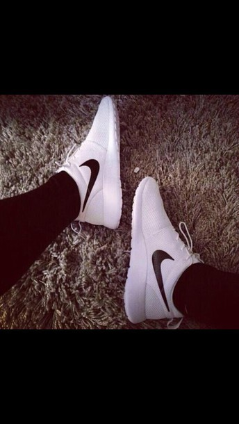 shoes nike sneakers white