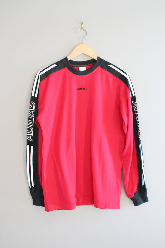 adidas t shirt adidas sweatshirt red oversized pullover 3. Black Bedroom Furniture Sets. Home Design Ideas