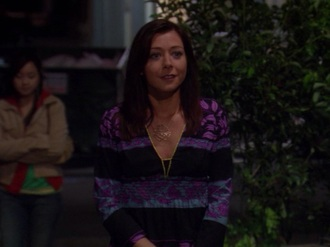 jewels gold flower necklace alyson hannigan how i met your mother