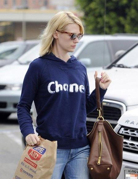 print blouse letters hoodie coat women clothing dark blue