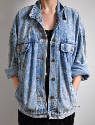 jacket tumblr denim jacket grunge jean jacket