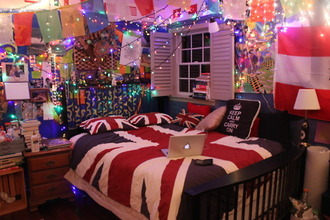 bag sheets pillow union jack