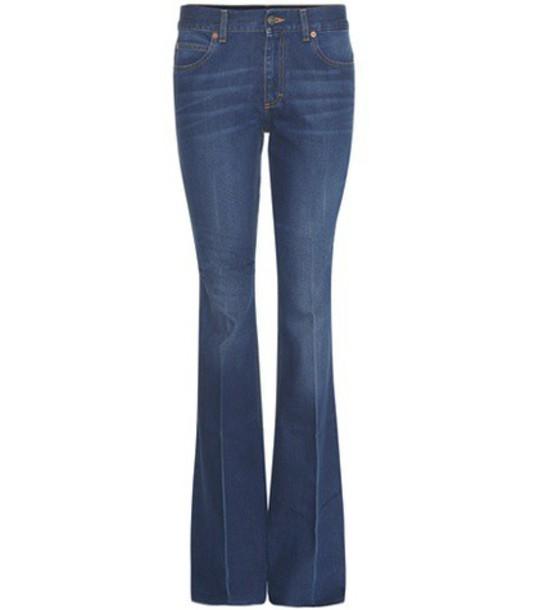 gucci jeans blue