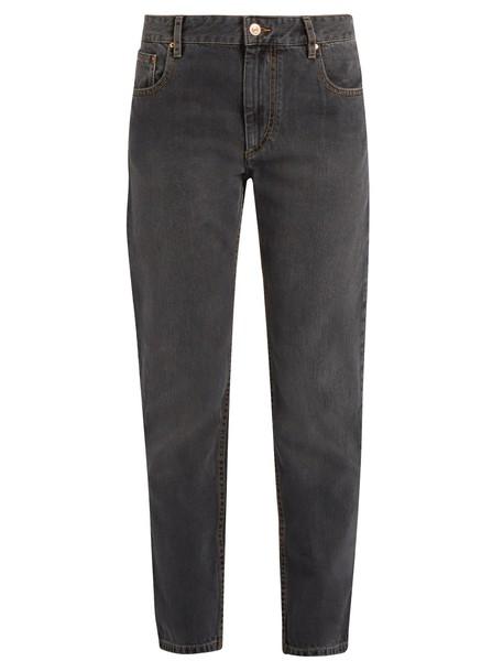 Isabel Marant etoile jeans high grey