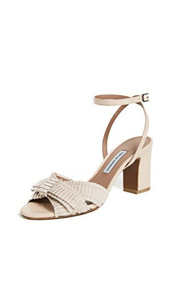 tabitha simmons strappy pumps rose shoes