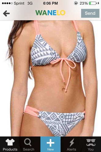 swimwear lightpink grey