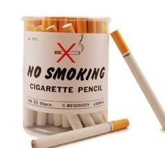 Amazon.com : No Smoking Pencils - 60 Cigarette Style Pencils BCA-111 : Wood Lead Pencils : Office Products