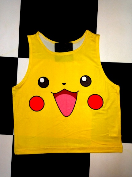 SWEET LORD O'MIGHTY! PIKACHU CROP TANK