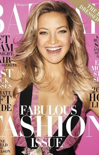 dress gown editorial kate hudson