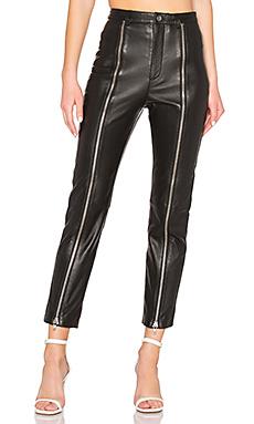LPA Zip Up Pant in Black from Revolve.com
