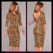 leopard print,bodycon dress,animal print,sexy dress