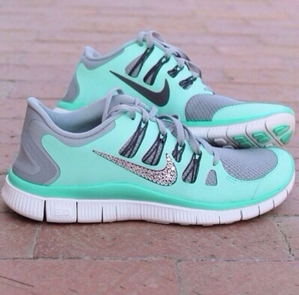 shoes nike free5.0 running fitness girl