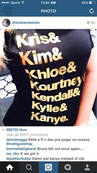 shirt kardashians tee