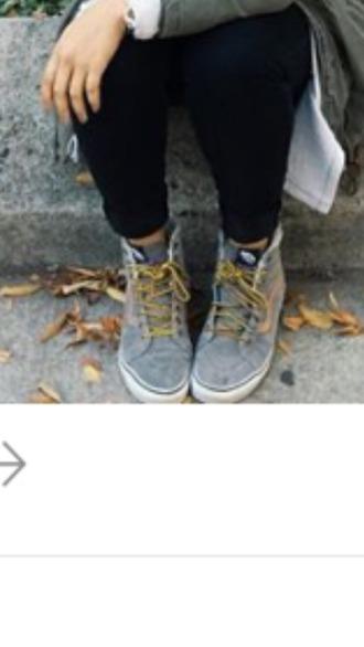 shoes high top sneakers vans tan oldskool vansofthewall