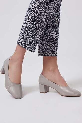 shoes grey shoes ballet flats heels glove heels