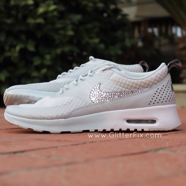 nike air max thea womens light grey