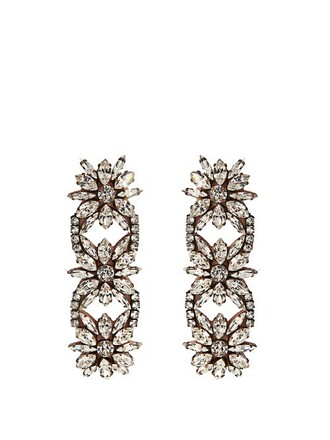 embellished earrings jewels