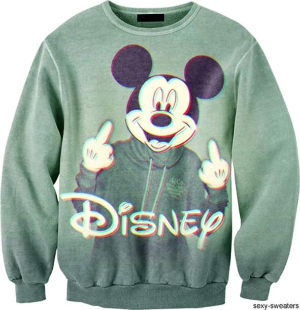 sweater disney profanity