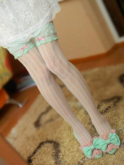 tights thigh high socks