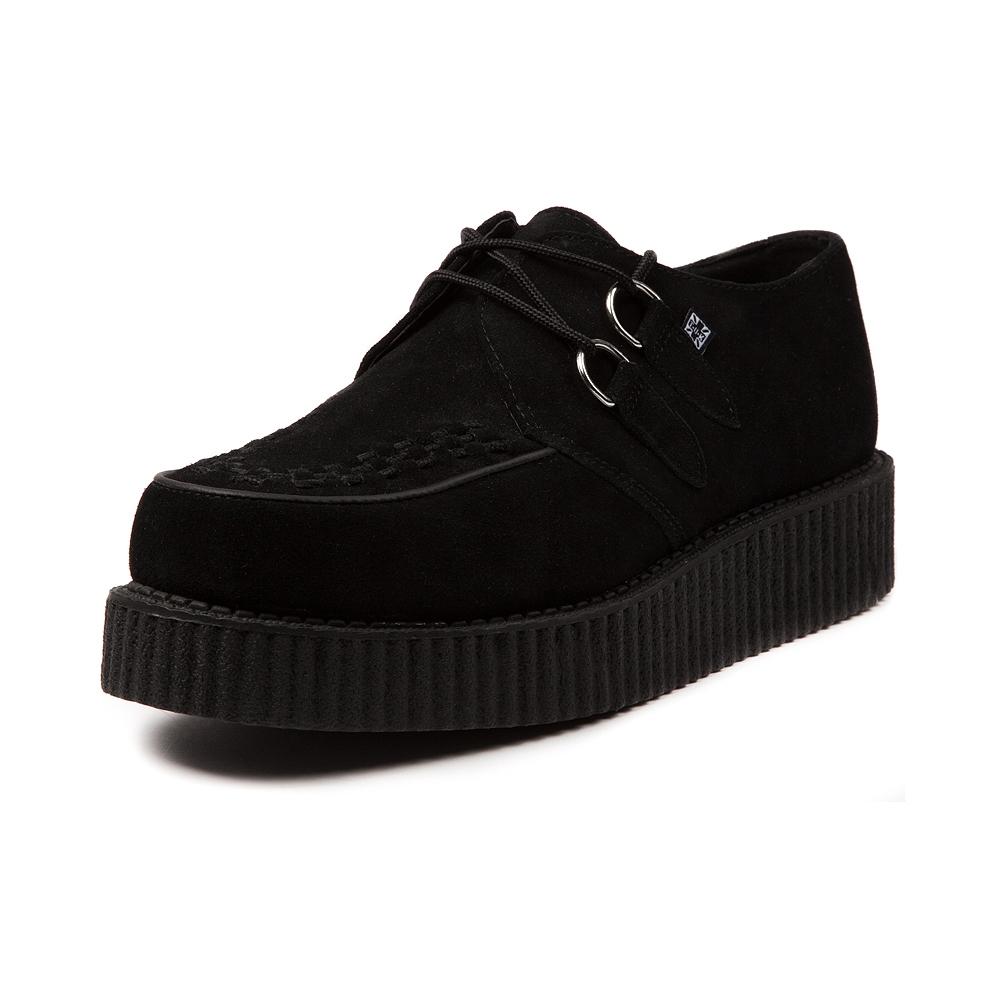 Mens T.U.K Creeper, Black Suede | Journeys Shoes