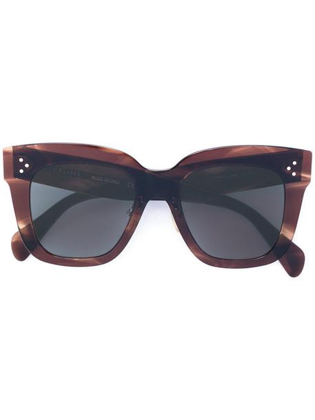 c34526b0fd7 Céline Eyewear Céline Eyewear -  Kim  sunglasses - women - Acetate - 51