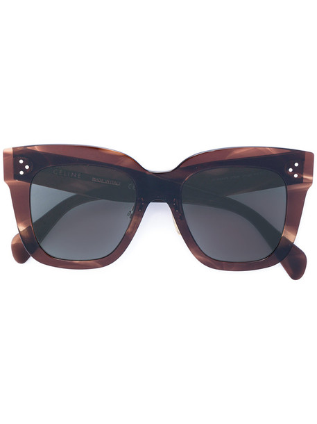 1d7267fd3dc Céline Eyewear Céline Eyewear -  Kim  sunglasses - women - Acetate - 51