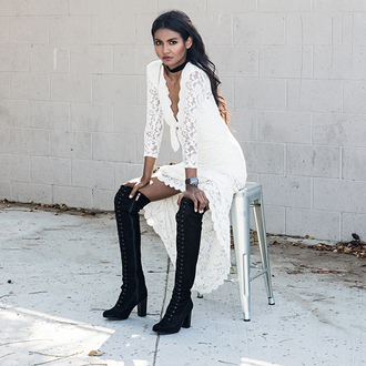 tuolomee blogger dress