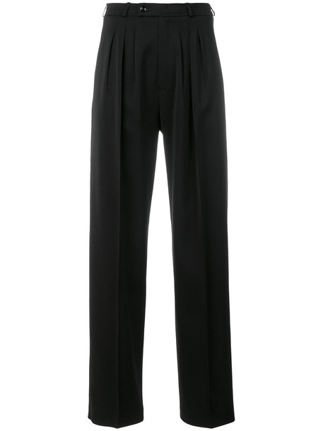 GOLDEN GOOSE DELUXE BRAND high women spandex black pants