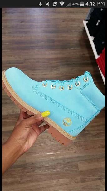 shoes blue light blue yellow timberlands timberland timberland boots shoes  boots urban streetwear urban wear urban 5ab9261b9