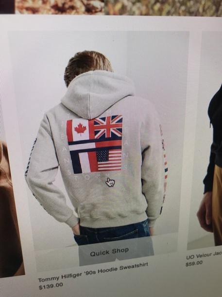 jacket tommy hilfiger tommy hilfiger jacket tommy hilfiger windbreaker tommy hilfiger crop top 90s style hoodie hooded jacket sweater sweatshirt 90s jacket grey usa american flag american apparel