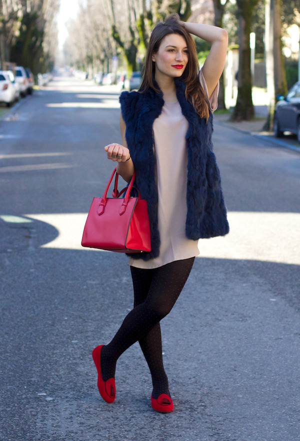 style and trouble coat shoes bag dress