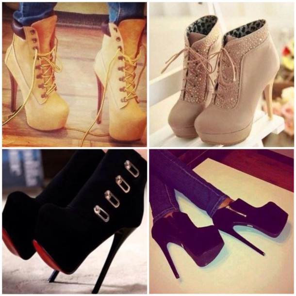 outfits with timberland heels
