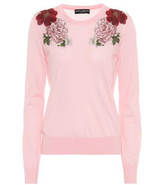 Dolce & Gabbana sweater pink
