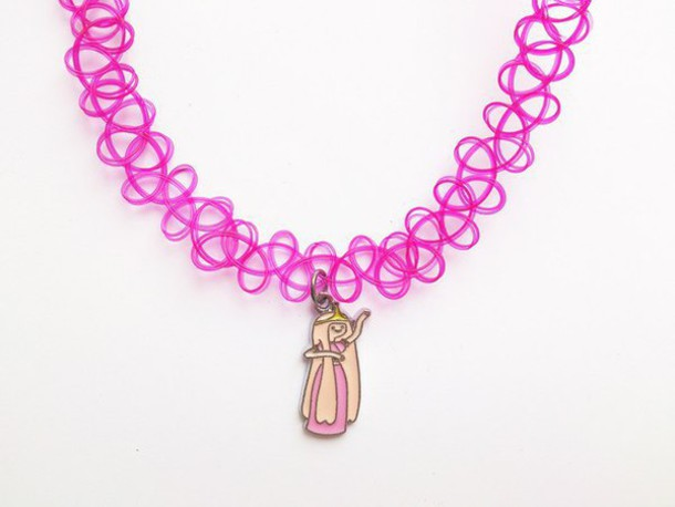 jewels choker necklace choker necklace adventure time princess