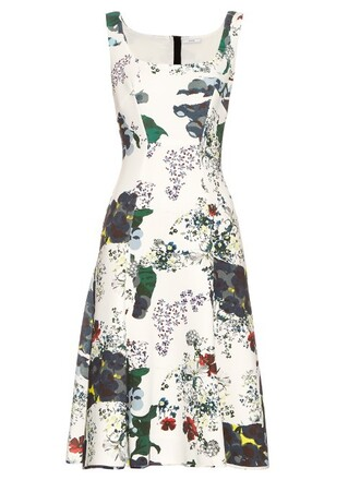 dress print neoprene white