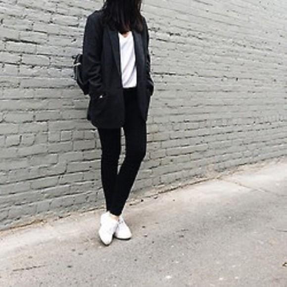 coat fashion black