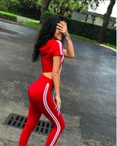 sweater,twin set,malu trevejo,malutrevejo,fashionnova,fashion,matching set,pants